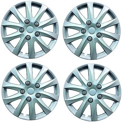 "Wing Mirrors World Nissan Micra Hatchback 14 ""Phoenix Coche tapacubos de plástico, Color"
