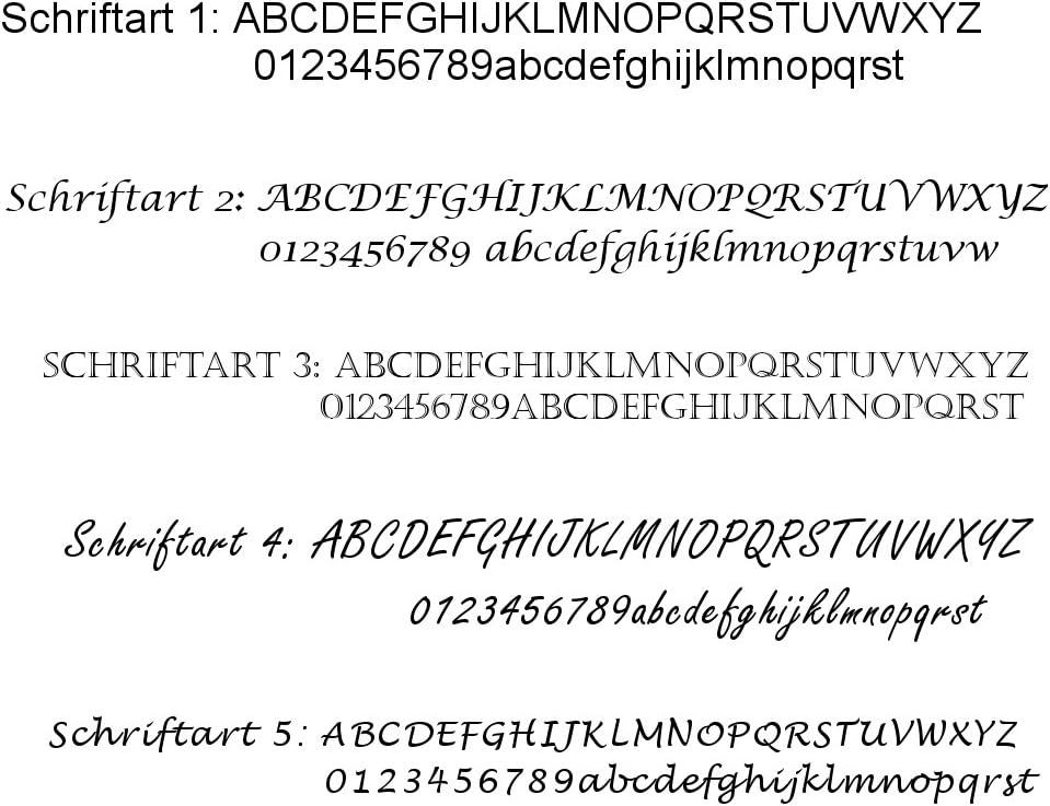 4 Touchpen Kugelschreiber mit Gravur // aus Metall // Farbe: je 1x gr/ün rot schwarz blau