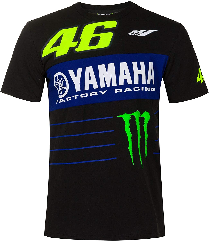 Valentino Rossi VR46 Moto GP M1 Power Line Yamaha Camiseta Oficial 2020