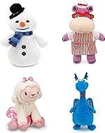 Disney Junior Jr Doc McStuffins CHILLY Snowman Bean Bag Plush &