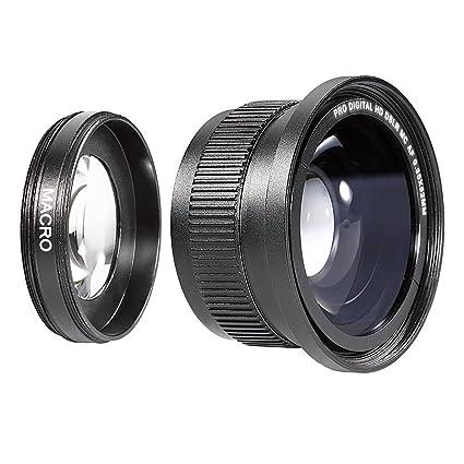 34fe20bcef0b8 Neewer® 52MM 0.35X High Definition II Wide Angle Macro Fisheye Lens for  NIKON D5300