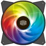 Cooler Master Master Fan MF120R エアバランス ARGB- 120mm アドレス可能なARGBケースファン コンピュータケース CPUクーラー ラジエーター