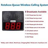 Retekess TD101 Pager Wireless Calling System