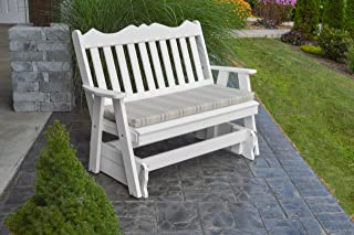 product image for Outdoor Poly 5 Foot Royal English Glider - Bright White