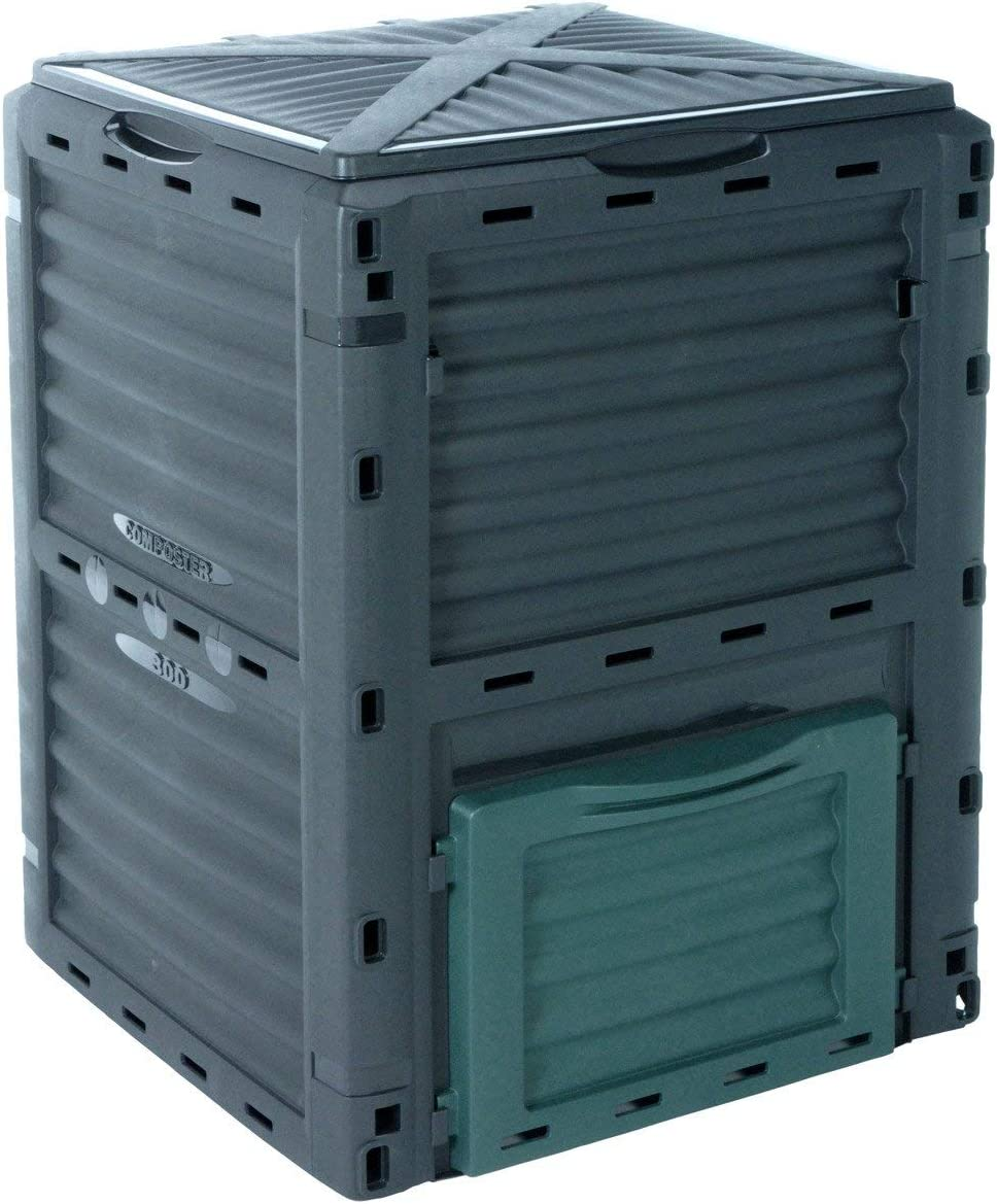 Cubo Conversor para Compostaje Ecológico de 300 Litros 776861