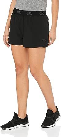 Canterbury Vapodri 2-in-5 Short, Adult-Women, Jet Black