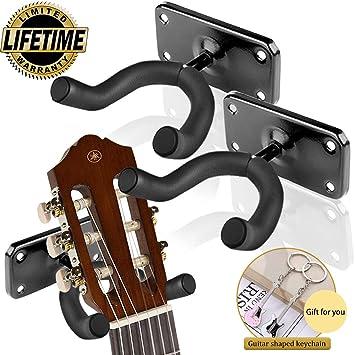 Amazon.com: Guitar Wall Mount,Ukulele Wall Mount Hanger ...