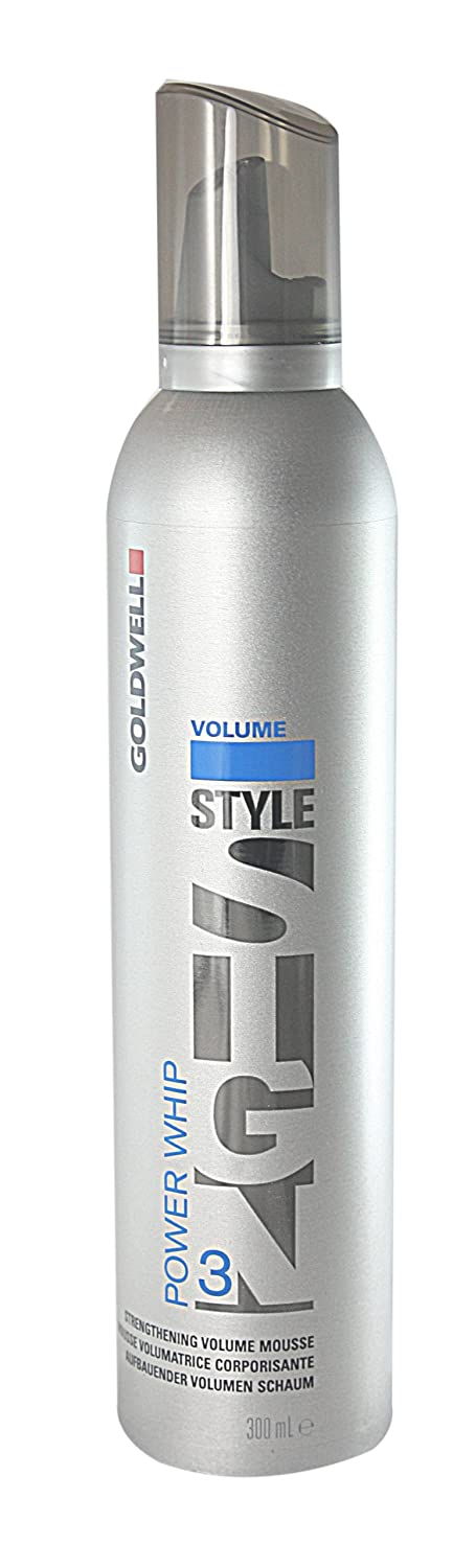 Goldwell Style Sign 3 Power Whip Strengthening Volume Mousse, 10.14 Ounce 5127