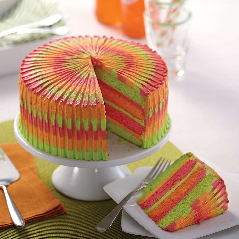 Set of 2 8 Inch Non-Stick Round Cake Pan Carbon Steel Bakeware Round Cheesecake Pan