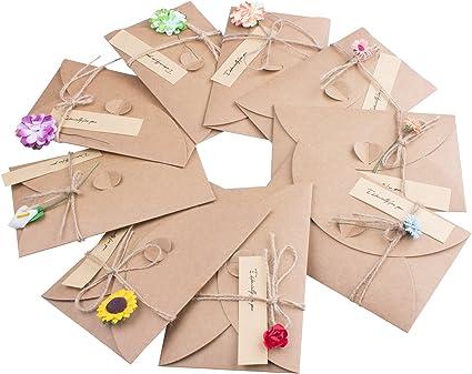 Fashion À faire soi-même Créatif Cadeau Rétro Mini Vintage Carte Postale Cartes de vœux