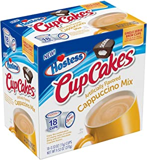 product image for Hostess CupCakes Flavored Cappuccino Single Serve Cups - 18 Count