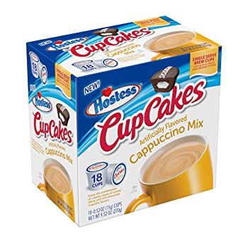 Hostess Flavorful Cappuccino K-cups