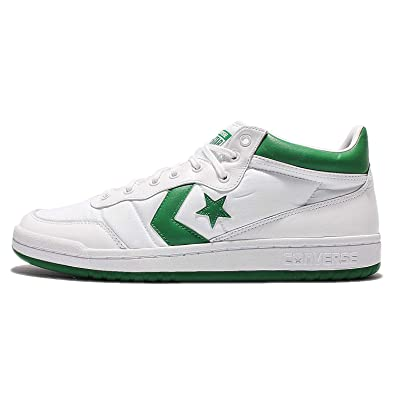 Converse Fastbreak 83 Mid White Green White  Amazon.co.uk  Shoes   Bags 0a94b2d0e