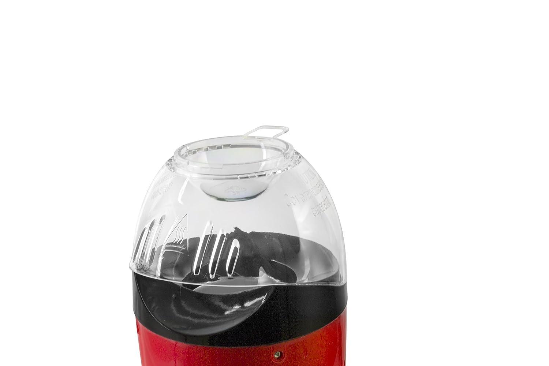 ITALIAN DESIGN ID Palomitero | Maquina de Palomitas Listas en 3 Minutos con Calentador de Mantequilla - 1200W