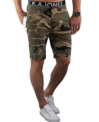 d7da1a5117f4 JACK   JONES Herren Short jjiGRAHAM Chino Shorts Camouflage kurze Hose (XL,  Camouflage (