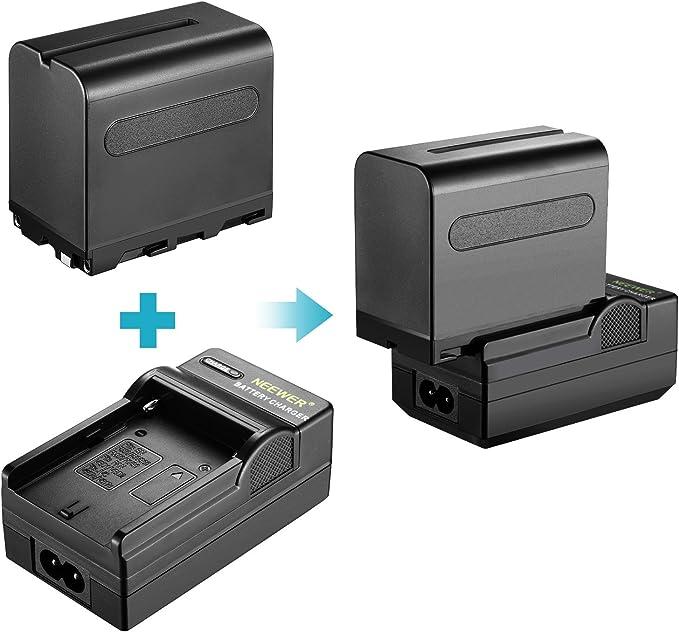Neewer 3-Pack 660 LED Lumi/ère vid/éo Bicolore R/églable avec Coupe Flux et Support de Lumi/ère 6-Pack 6600mAh Batterie Li-ION et Chargeur pour Photo Studio Youtube Vid/éo Rouge
