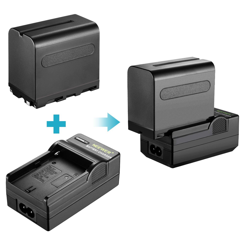 Bleu Neewer 2-Pack 660 LED Lumi/ère Vid/éo Bicolore R/églable avec Coupeflux et Support Lumi/ère 4-Pack 6600mAh Batterie Li-ION Rechargeable et Chargeur pour Photo Studio Youtube Vid/éo