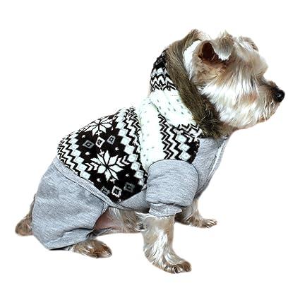Amazon.com   Alfie Pet by Petoga Couture - Nova Hooded Jumper ... d2f813f818c0
