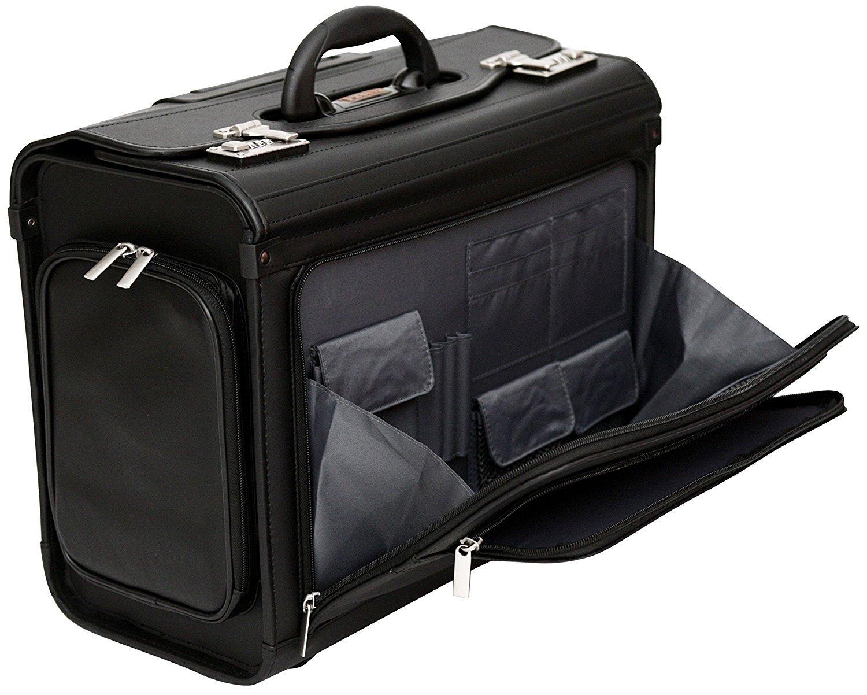 a91ec615ec Tassia - valigia pilota bagaglio a mano - con rotelle - per laptop fino a  17,3