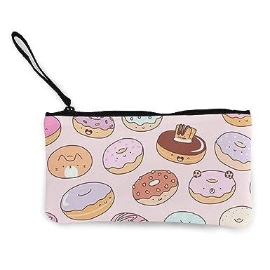 Amazon.com: Colorido Panda Donuts monedero de viaje de ...