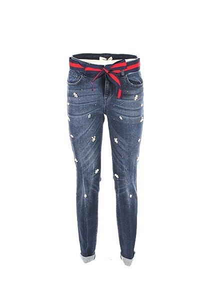 Kocca Jeans Donna in Cotone Denim OURDEK Colore L307 Collezione  Autunno-Inverno 2018 19  Amazon.it  Abbigliamento a6f65f48ed5