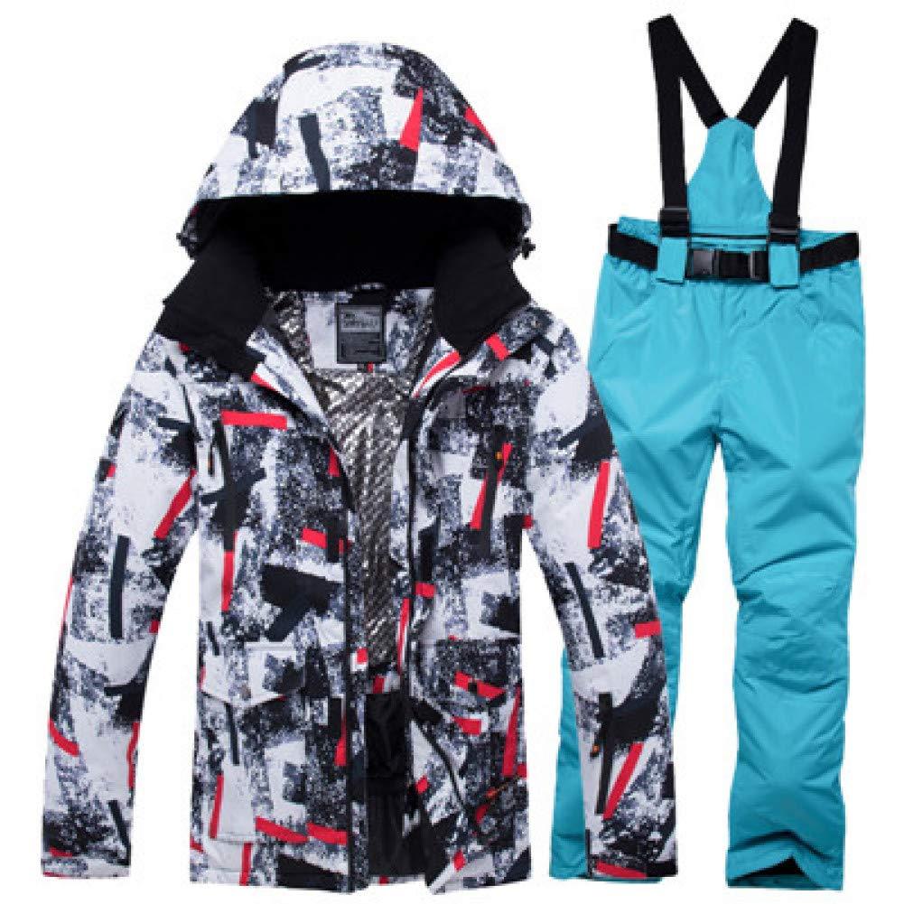 KUNHAN Abbigliamento da da da sci per uomo Giacca da Sci da Uomo Impermeabile Antivento Tuta da Sci Invernale da Snowboard Caldo Abbigliamento da Neve Invernale Giacche da Sci CompletoB07MV673G4L Coloreeee 5   Premio pazzesco, Birmingham    Spaccio    Eccezio 18cf00