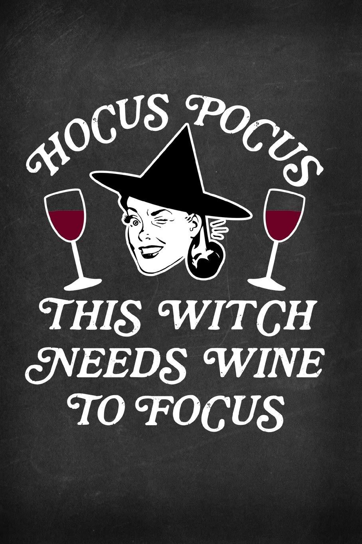 28+ Hocus Pocus I Need Wine To Focus DXF