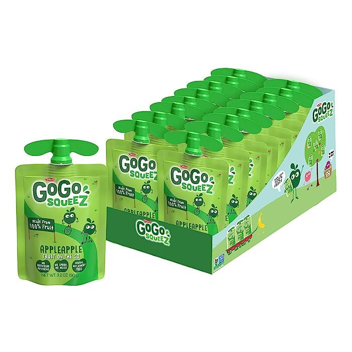 The Best Gogo Squeeze Apple Cherry