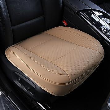 Car Seat CushionLuxury PU Leather Semi Custom Front Driver Cover Mat