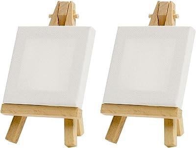 Art Alternatives Mini Canvas & Easel Set