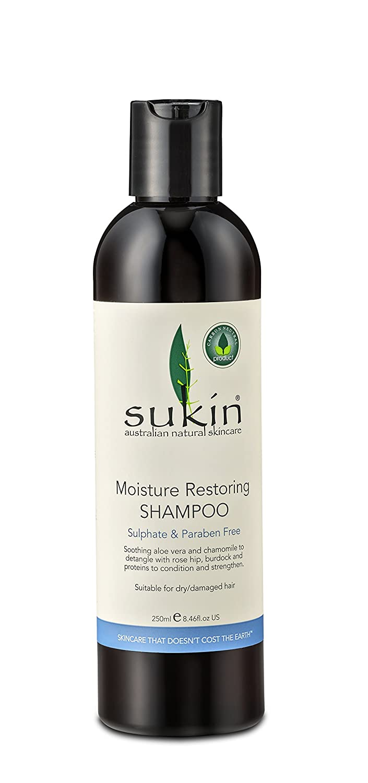 Sukin Moisture Restore Shampoo Pump 500ml SDS5