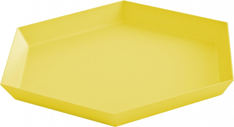 Hey Kaleido S soporte/bandeja, amarillo 22 x 19 cm: Amazon.es: Hogar