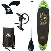 Aqua Marina a110163gnm Stand-up Brisa Paddle Board con Remo, Hinchable
