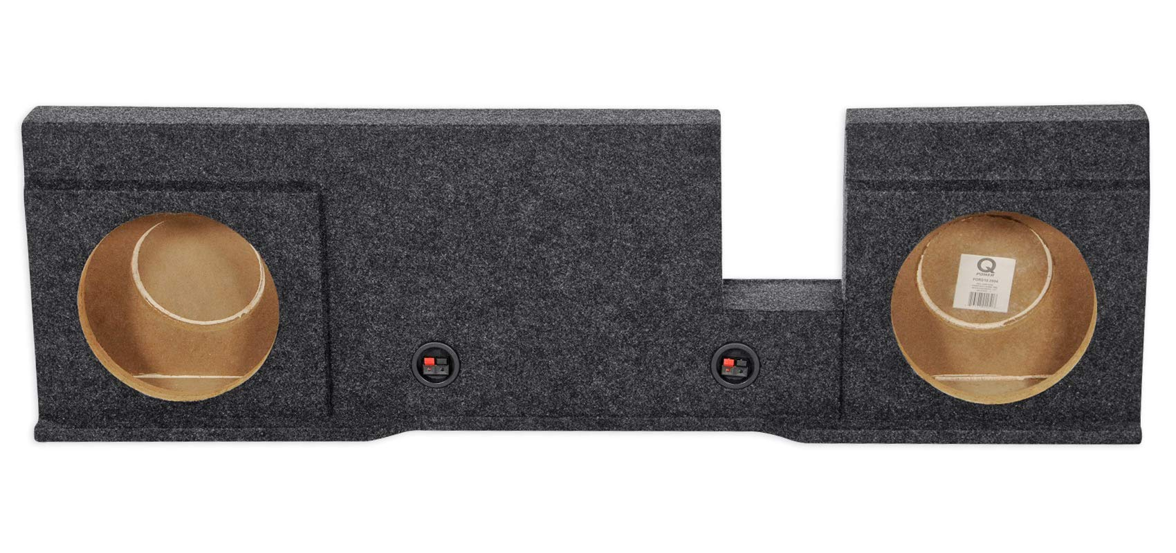 Dual 10'' Subwoofer Sub Box Enclosure for 2004-2008 Ford F150 Xcab or SuperCrew