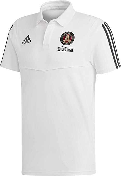 adidas Atlanta United FC Coaches Polo: Amazon.es: Deportes y aire ...