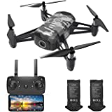 HR Drone For Kids With 1080p HD FPV Camera,Mini Quadcopter For Beginners With Altitude Hold,One Key Start/Land,Draw Path,2 Mo