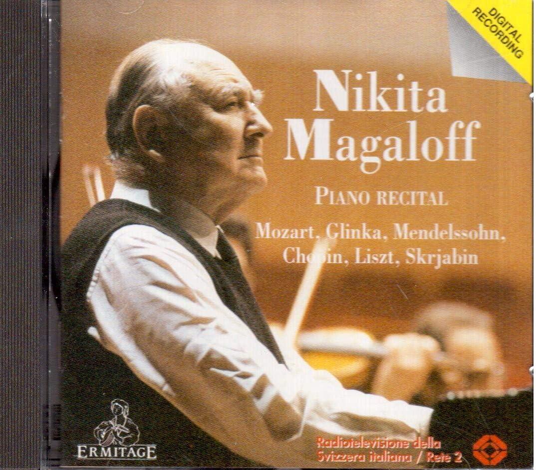 Paradosso sessuale Crea la vita  Piano Recital: Nikita Magaloff: Amazon.it: Musica