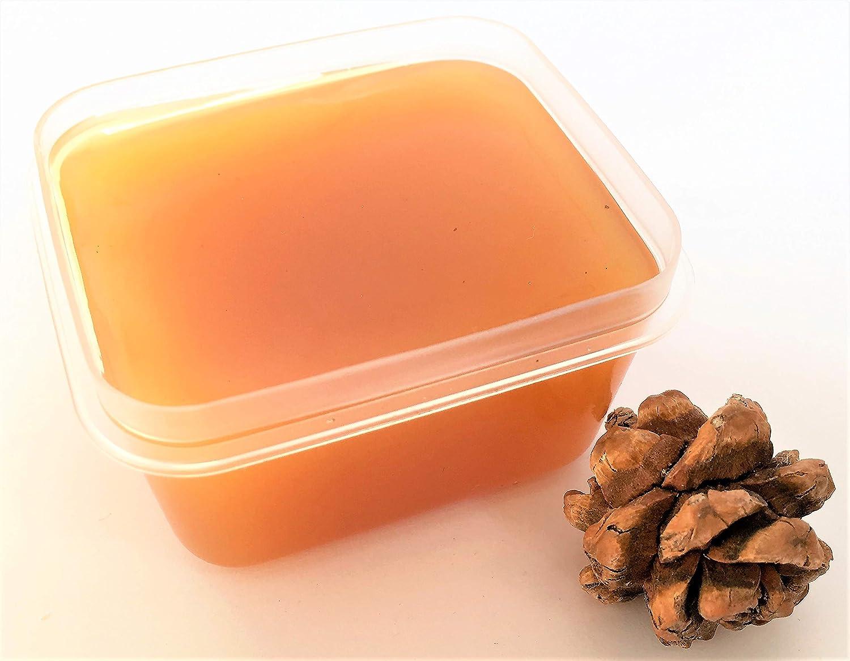 Jenny Joys Soap Pinon Pine Resin para envoltorios de cera de abejas, bálsamos para barba y bigote, cosechados en forma silvestre en Arizona, 2 oz.