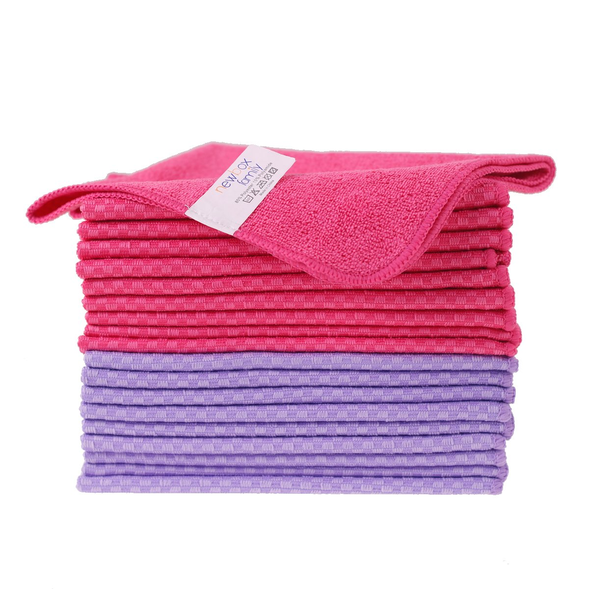 Microfiber Cloth - 24 Pack for Kitchen best Appliance Auto microfiber Cleaning cloth