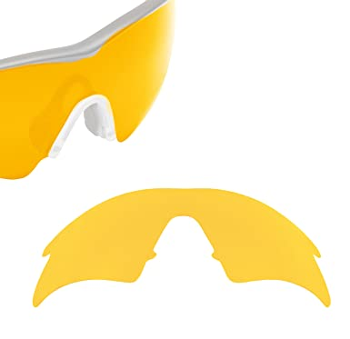 0d7dbdc439 VENTED M Frame Sweep Replacement Lenses Polarized Hi Yellow by SEEK fits  OAKLEY