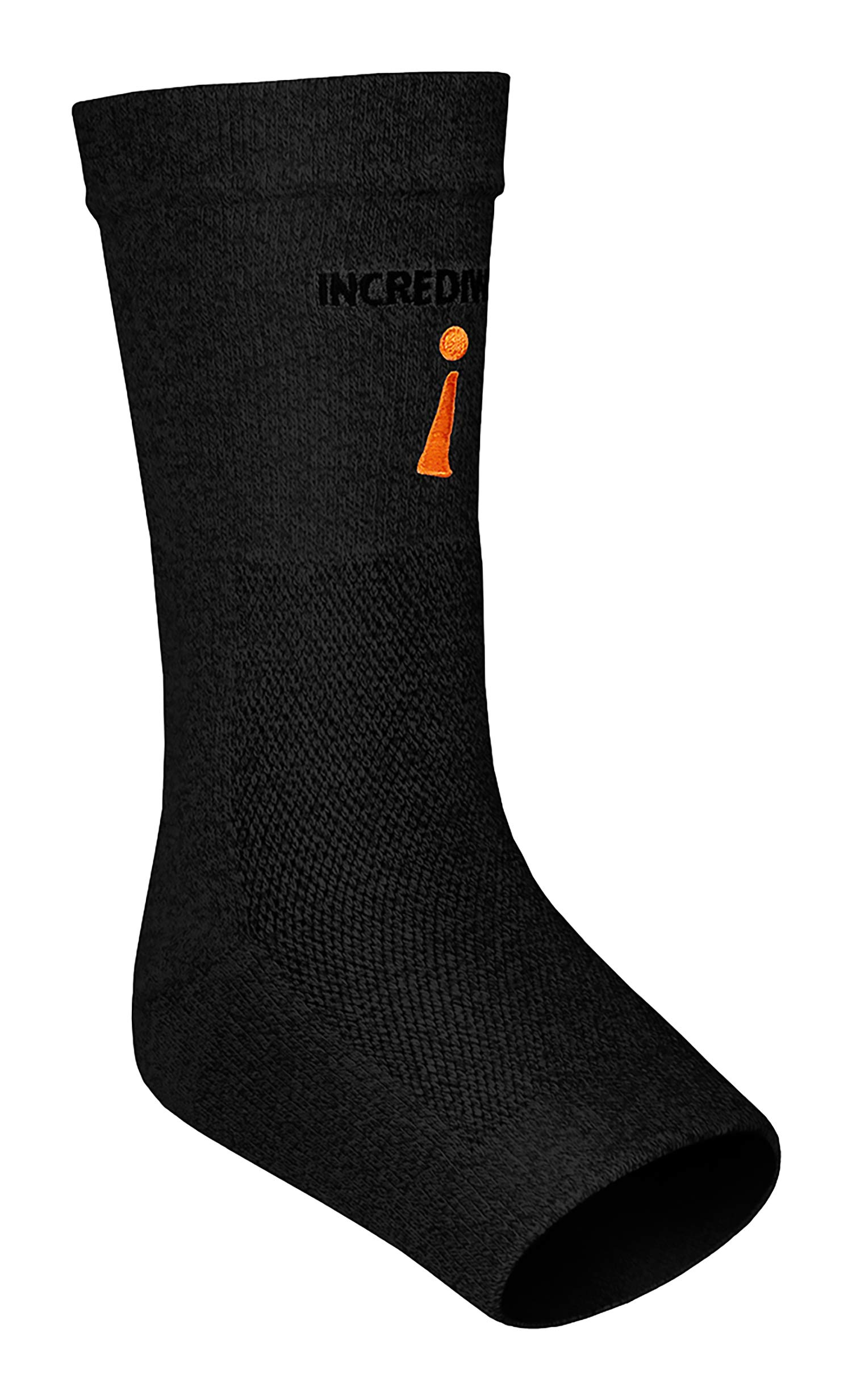 Incrediwear Ankle Sleeve, Black, L by Incrediwear