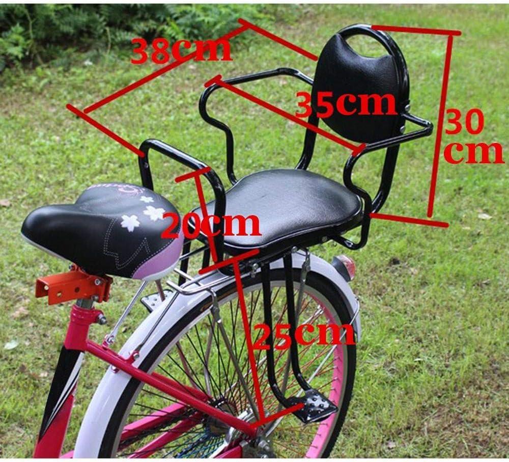 absorci/ón de Golpes de Piel coj/ín de Resorte Sill/ín de Bicicleta para Exteriores c/ómodo Accesorio de Estilo Antiguo de Repuesto HilMe Estilo Retro para Bicicleta cl/ásica Universal