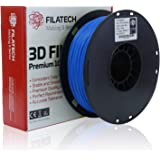 Filatech PLA Filament, Lum. Blue, 1.75mm, 1KG