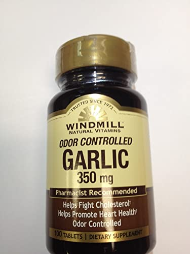 GARLIC TABS 350MG WMILL