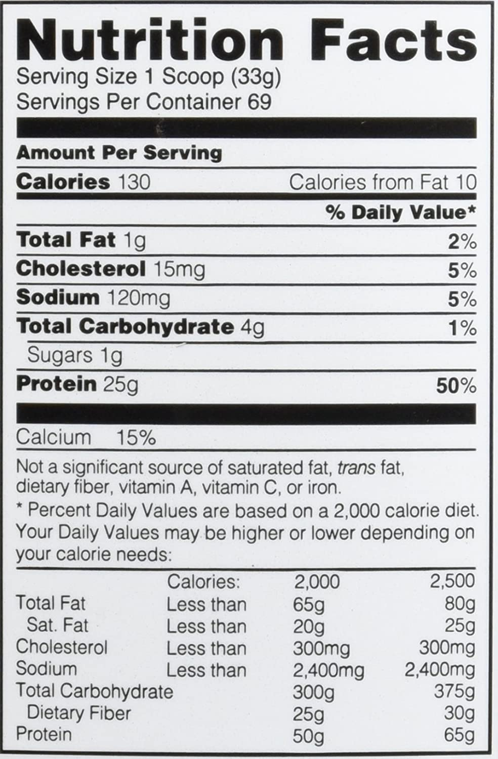 Amazon.com: Optimum Nutrition On Isolate, Vanilla Soft Serve, 5.01 Pound:  Health U0026 Personal Care  Ingredients Label Template