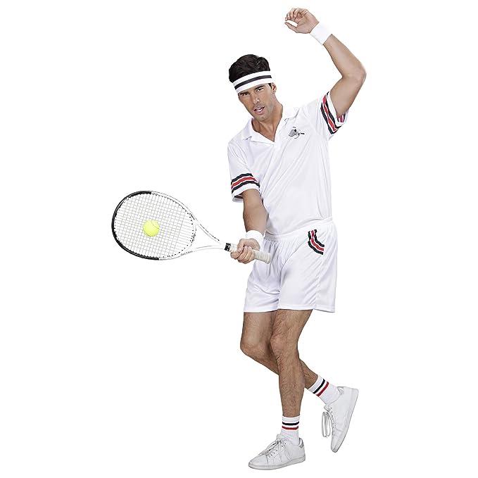 WIDMANN Disfraz Jugador de Tenis Carnaval: Amazon.es ...