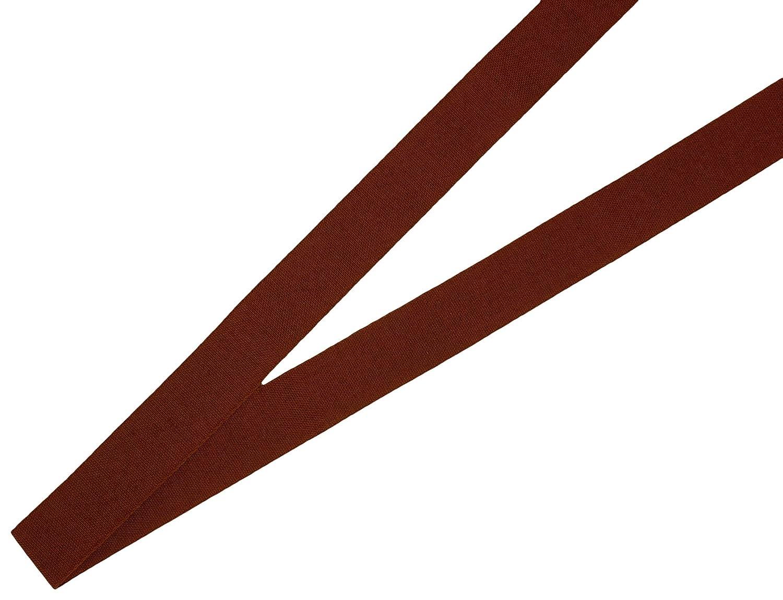 ベルアート コットンリボン 25mm幅 30m巻 Col.43 赤 AZART-0800 B01KZG8QLI
