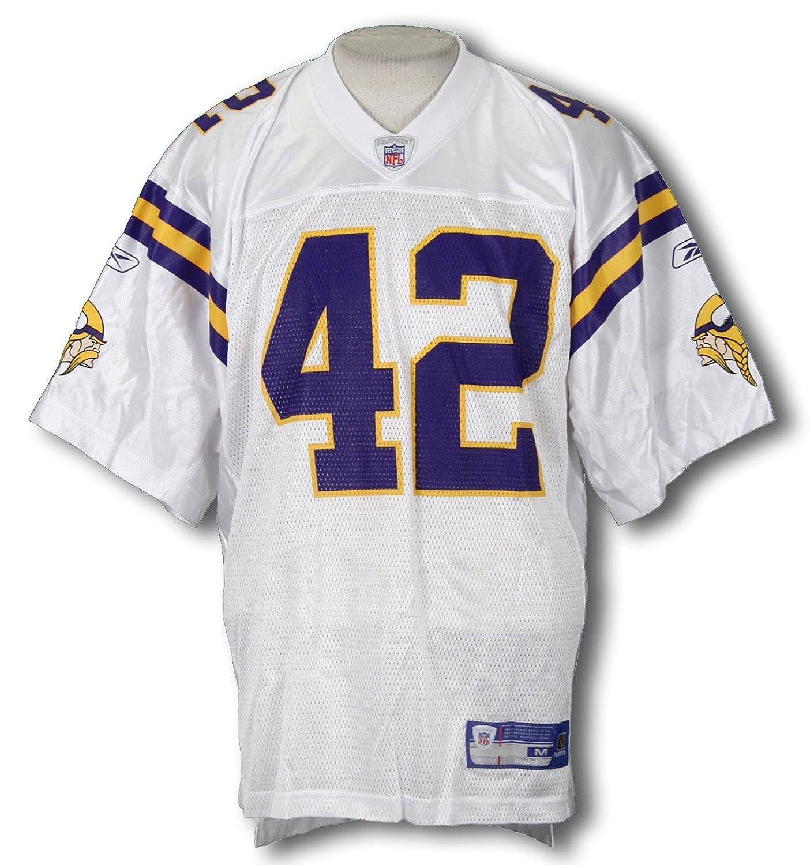 dc79b4c5ec50 Amazon.com   Minnesota Vikings Mens NFL Football Jersey Darren Sharper  42  White   Sports Fan Football Jerseys   Clothing