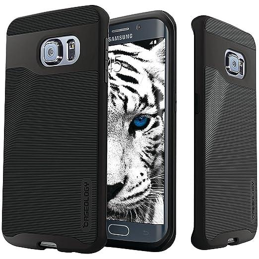 8 opinioni per Custodia Samsung Galaxy S6 Edge Cover Caseology [Serie Wavelength] Protezione