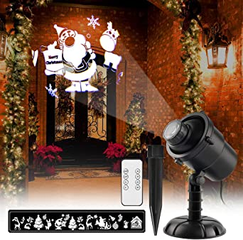 Luces de Proyector LED Luz de Proyección Impermeable con ...